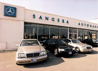 Mercedes benz dealers sangera autohaus for Mercedes benz dealer in bakersfield ca